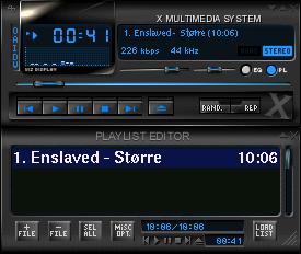 Musepack for Linux full screenshot